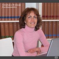 Anwalt  Christiane Birnbeck