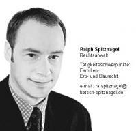 Anwalt  Ralph Spitznagel